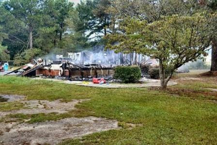 Ashburn House Fire Extinquished