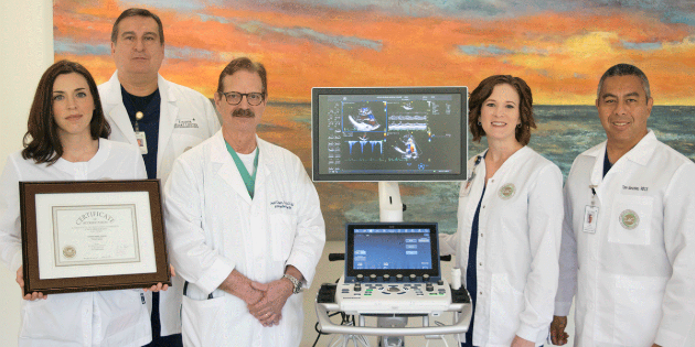Dasher Heart Center earns Echocardiography accreditation by IAC