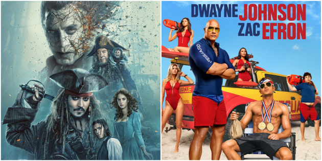 """Pirates 5"" and ""Baywatch"" new this weekend at Valdosta Cinemas"