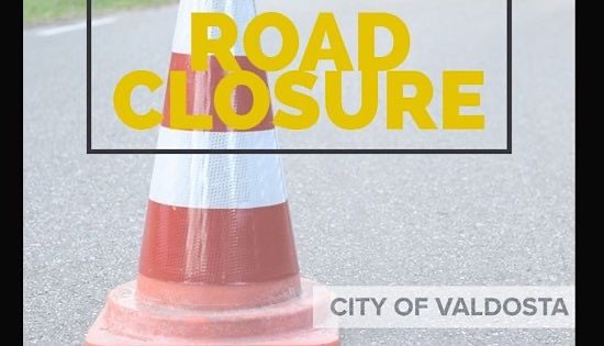 St. Augustine Rd. will be closed on Feb 17 2020 for City of Valdosta sewage maintenance